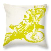 X Games Motocross 5 Throw Pillow