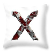 X Is For X-ray Throw Pillow
