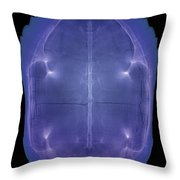 X-ray Of A Turtle Shell Throw Pillow