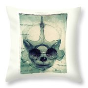 X Ray Terrestrial No. 13 Throw Pillow
