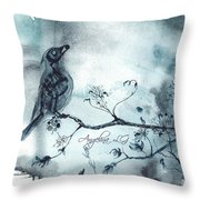 X-ray Vision I Throw Pillow