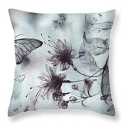 X-ray Vision II Throw Pillow