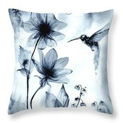 X-ray Vision IIi Throw Pillow