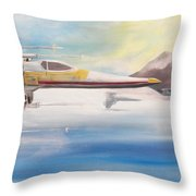 X Wing Fighter Throw Pillow