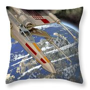 10105 X-wing Starfighter Throw Pillow