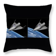 X20 - Gently Cross Your Eyes And Focus On The Middle Image Throw Pillow