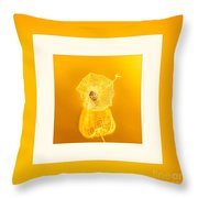 Xanthic Throw Pillow