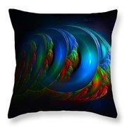 Xenolith-2 Throw Pillow