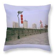 Ancient Xian Throw Pillow