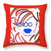 Xoxoo Throw Pillow