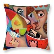 Xronia Polla Throw Pillow