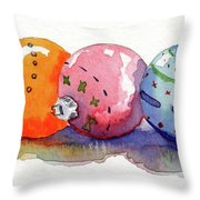 X's And O's Throw Pillow
