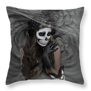 Who Will Want My Painful Soul 001 Throw Pillow