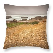 Yachats Seascape- 2 Throw Pillow
