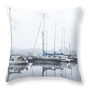 Yachting Club Throw Pillow