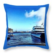 Yachtsee Throw Pillow