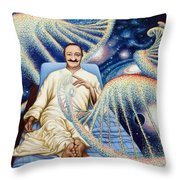 Yad Rakh Throw Pillow