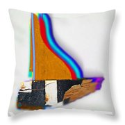 Yaghts Throw Pillow