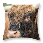 Yakity Yak Throw Pillow