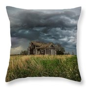 Yale Supercell Pano  Throw Pillow