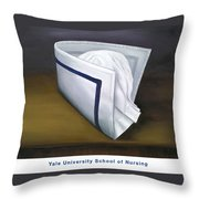 Yale University School Of Nursing Throw Pillow