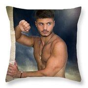 Yam  Throw Pillow