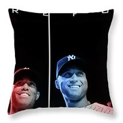 Yankee Core Four By Gbs Throw Pillow