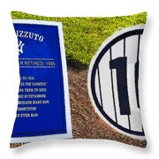 Yankee Legends Number 10 Throw Pillow