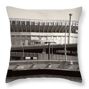 Yankee Stadium    1923  -  2008 Throw Pillow