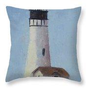 Yaqunia Head Lighthouse Throw Pillow
