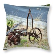 Yard Art 114 Throw Pillow