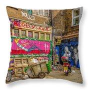 Yard Art Throw Pillow
