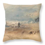Yarmouth Sands Throw Pillow