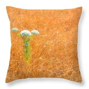 Yarrow Afloat Throw Pillow