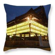Yasaka Shrine Throw Pillow
