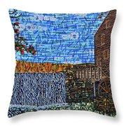 Yates Mill 3 Throw Pillow