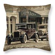 Ybor City Prop Cars Throw Pillow