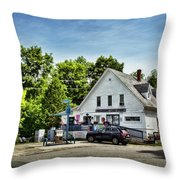 Ye Old Country Store Throw Pillow