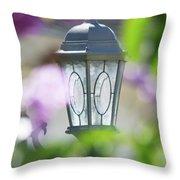 Ye Old Lamp Throw Pillow