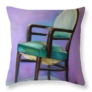 Ye Who Are Weary Throw Pillow
