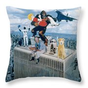 Year In Review Throw Pillow