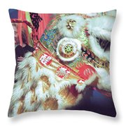 Year Of The Dog Camarillo Calif.  Throw Pillow