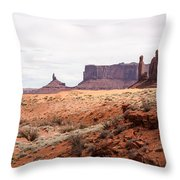 Yei Bi Chei And Totem Pole Formation Throw Pillow