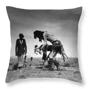 Yeibichai Ceremony, C1905 Throw Pillow