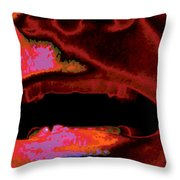 Yeller, No. 2 Throw Pillow