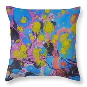Yello Pods Throw Pillow