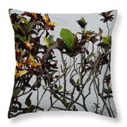 Yellogreen  Throw Pillow