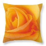 Yellow Blend Throw Pillow