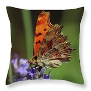 Yellow Butterfly No.2 Throw Pillow