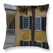 South Of Broad Throw Pillow